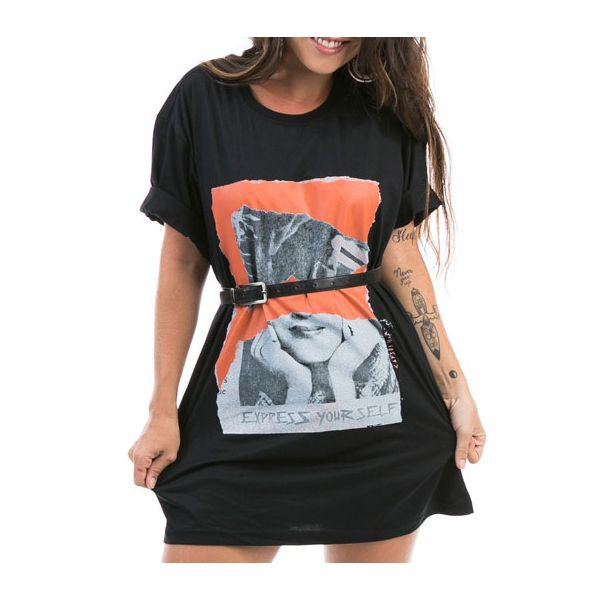 31395 camiseta feminina eco tshirt express your self p 1