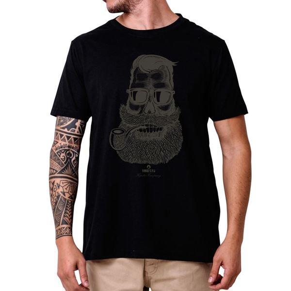 31211 camiseta eco tshirt estampada cara barbudo hipster p