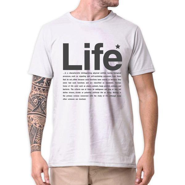 31233 camiseta eco tshirt estampada life b