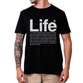 31233 camiseta eco tshirt estampada life p