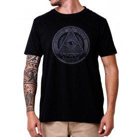 31250 camiseta eco tshirt estampada olho iluminati p