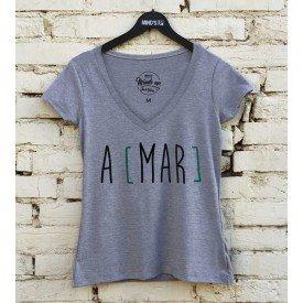 19586 camiseta tshirt gola v a mar m