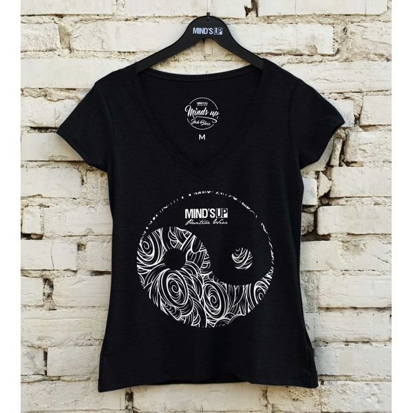 19591 camiseta tshirt gola v yin yang p