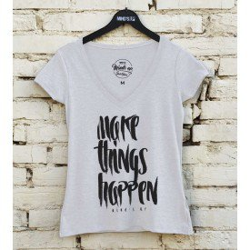 19599 camiseta tshirt gola v make things happen b