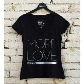 19594 tshirt feminina gola v more love p