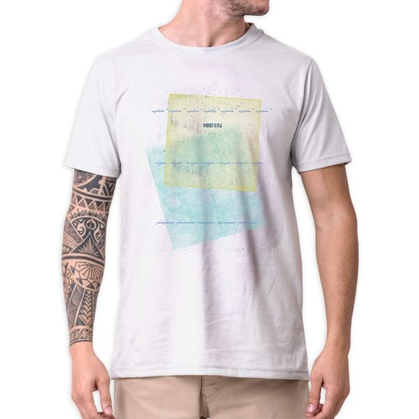 31213 camiseta eco tshirt estampada quadros b