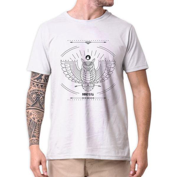 31208 camiseta eco tshirt estampada coruja pc b