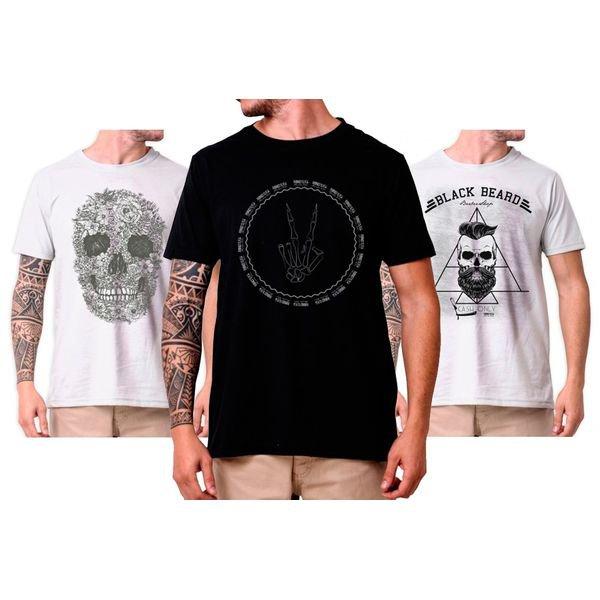 99003 Kit Skul 3 Camisetas