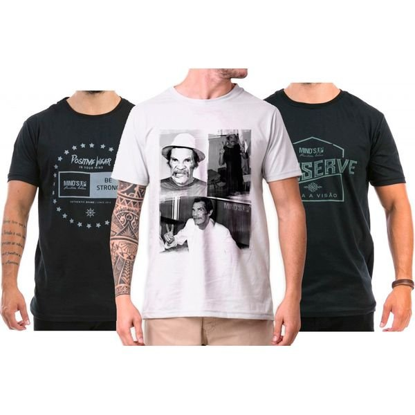 98007 Kit Era 3 Camisetas