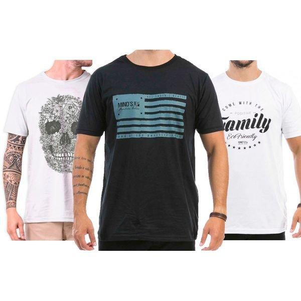 98008 Kit Flag 3 Camisetas
