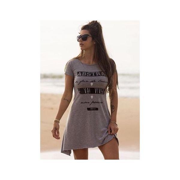 86001 vestido visco mescla