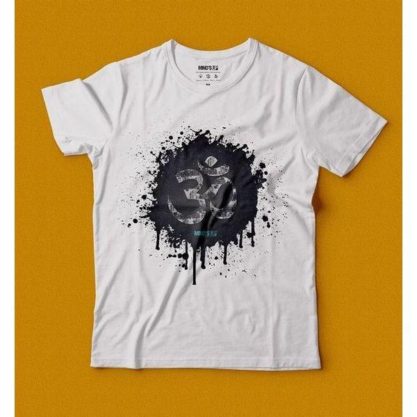 camiseta eco tshirt trance branco