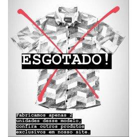 camisa geometrica esgotada