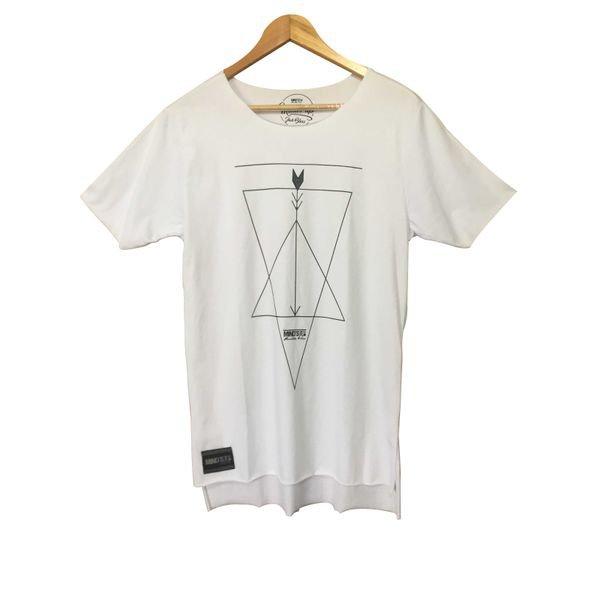 77324 longline oversize flecha triangulo branco
