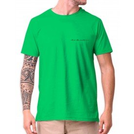 390001v camiseta tshirt verde lisa mockup 1