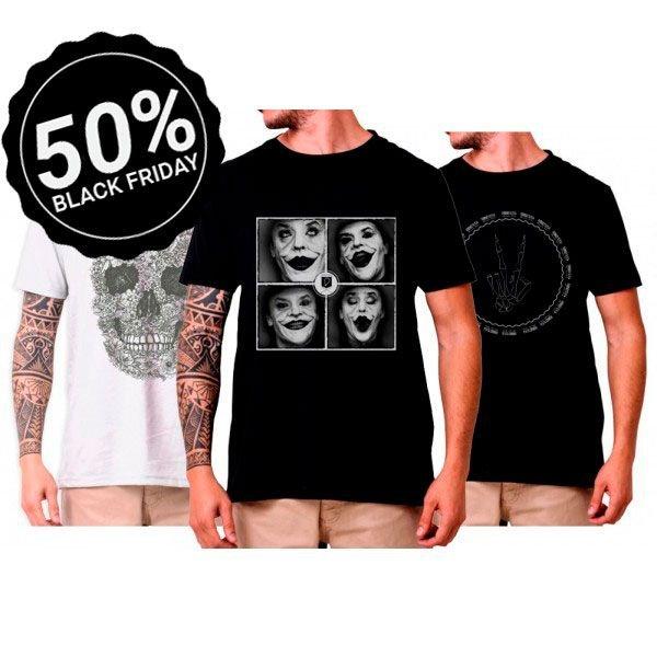 98001 kit revolution 3 camisetas