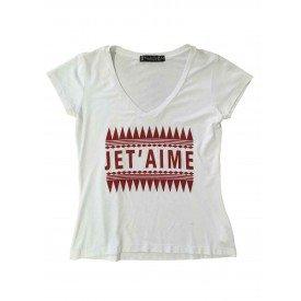 Camiseta Feminina Jet Aime Branca 1   Copia