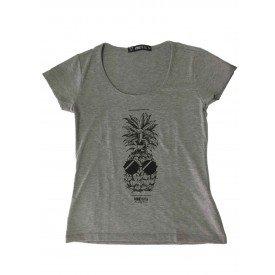 Camiseta Feminina Abacaxi Mescla 3