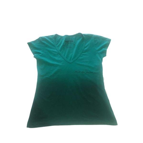 Camiseta Feminina Line Verde