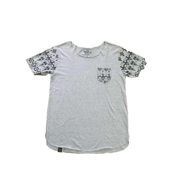 Longline Masculina Camiseta estampada Padres 1