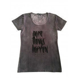 camiseta feminina estonada make things happen 1