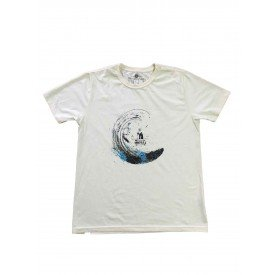 camiseta estampada agua
