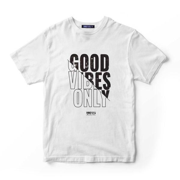 430 Good Vibes Only Branco