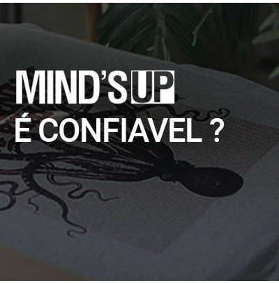 Banner Minds UP  confiavel