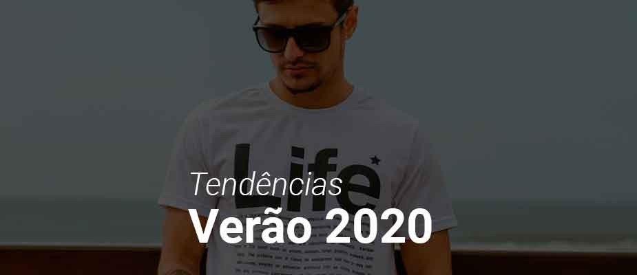 Tendências masculinas para o verão 2020