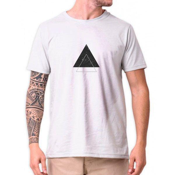 31487 double triangulo branco